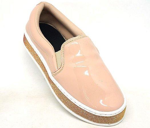 0575270aed0 Tênis Feminino Iate Doma Shoes Plataforma Rosê - Jb acessórios Loja ...