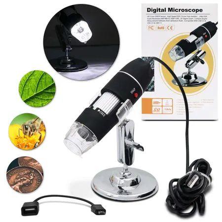 Microscópoio 500 x