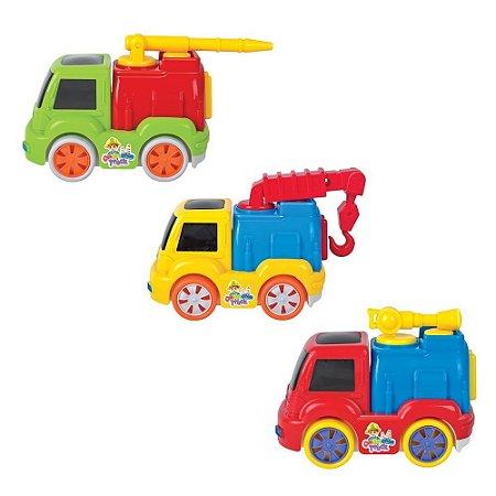 Bate-volta 3D Caminhão