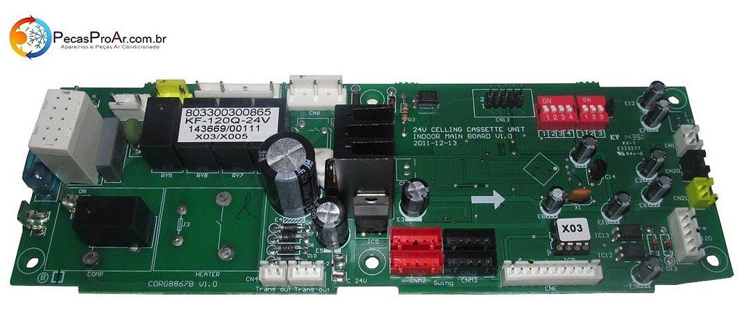 Placa Eletronica Komeco Cassete 36.000Btu/h KOC36FCG4