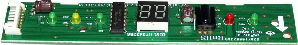 Placa Display Midea window 9.000Btu/h MSW09CR