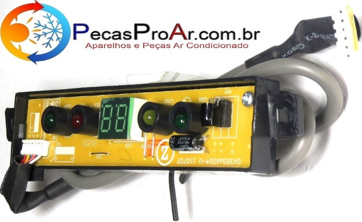 Placa Display Komeco Princess KOS30FDG2P