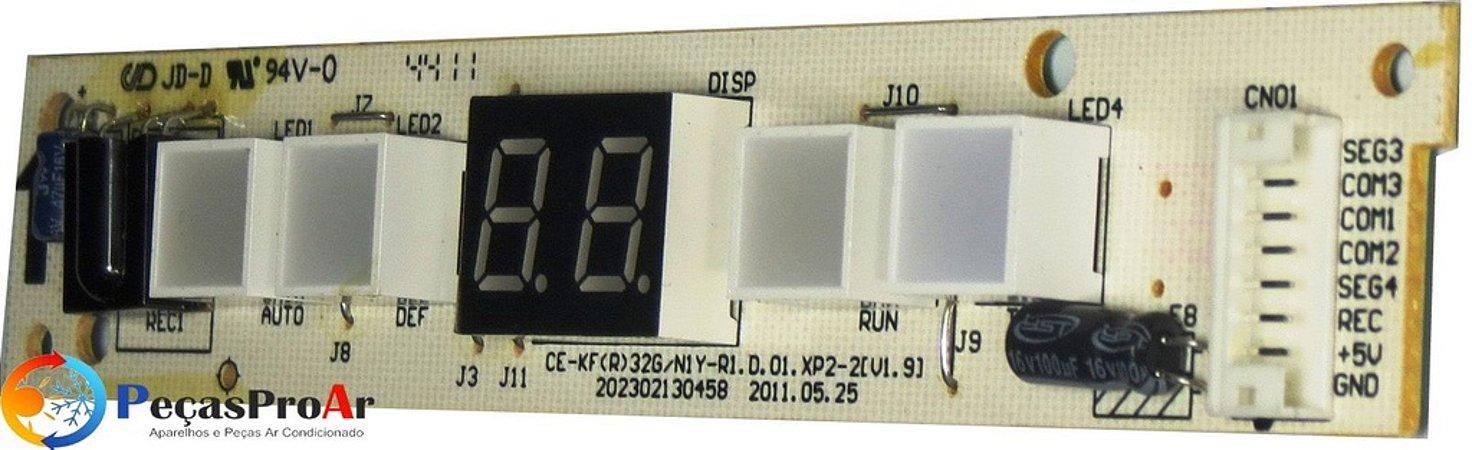 Placa Display Midea Comfee Split Hi Wall 12.000Btu/h MSM12HR