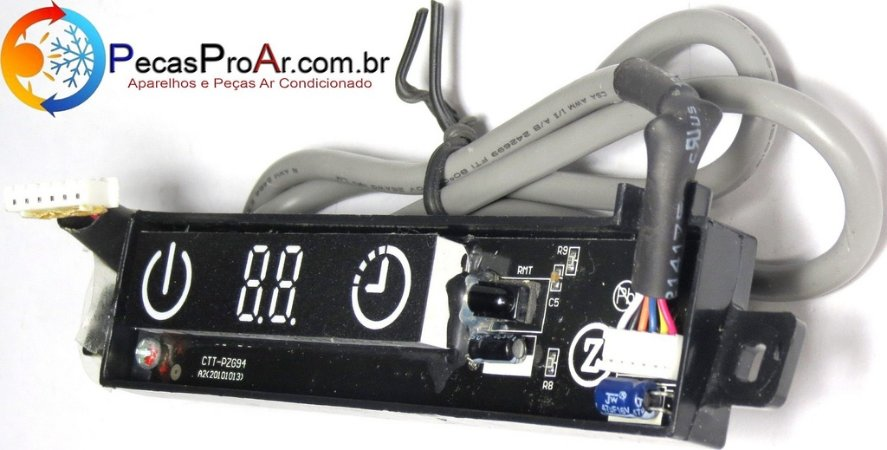 Placa Display Komeco Brize Split Hi Wall 12.000Btu/h BZS12QC2LX