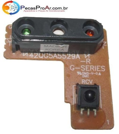 Placa Display Carrier Ideale Split Hi Wall 18.000Btu/h  42DXD18226