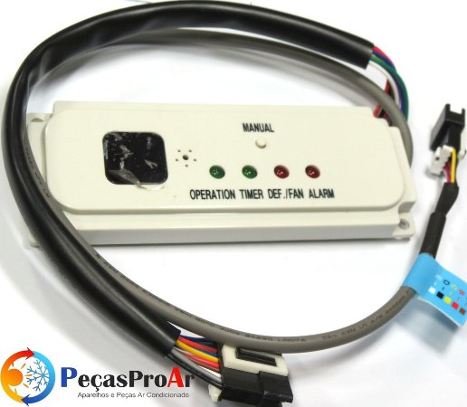 Placa Display Midea Cassete 60.000Btu/h MCE60CRV3