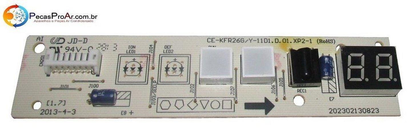 Placa Display Midea Comfee Split Hi Wall 12.000Btu/h 42MMCD12F5