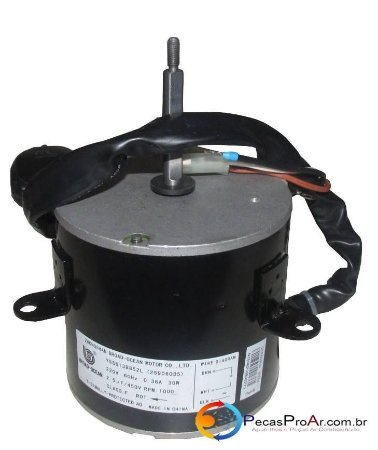 Motor Ventilador Condensadora Midea Liva Split Hi Wall 9.000Btu/h 38KQN09M5