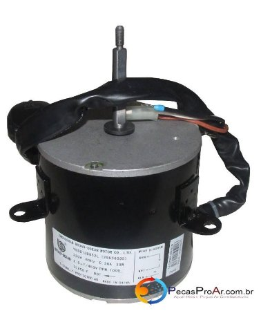 Motor Ventilador Condensadora Carrier Split Hi Wall 9.000Btu/h 38KCH09C5