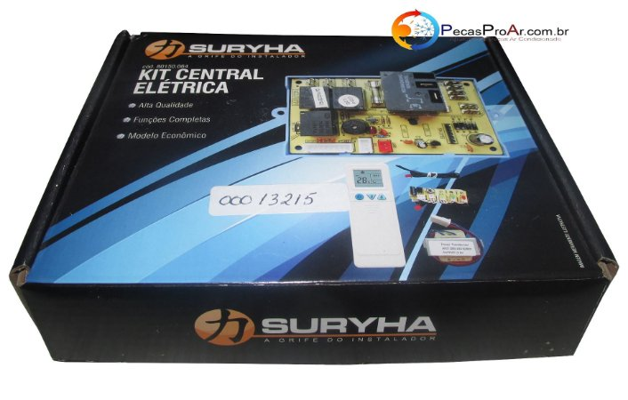 Kit Central Elétrica Placa eletronica + Display + Transformador + Controle + Sensor