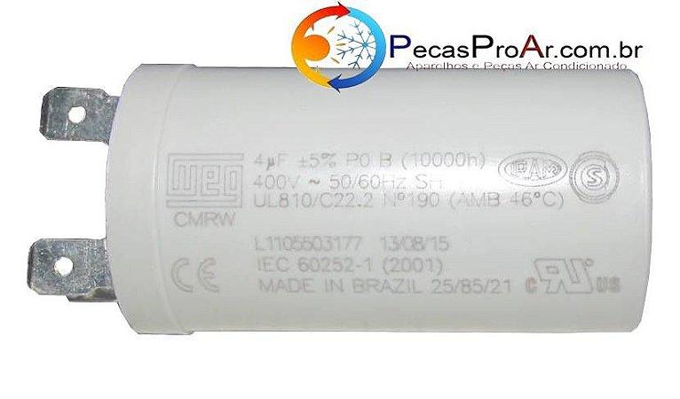 Capacitor 4MF 400V