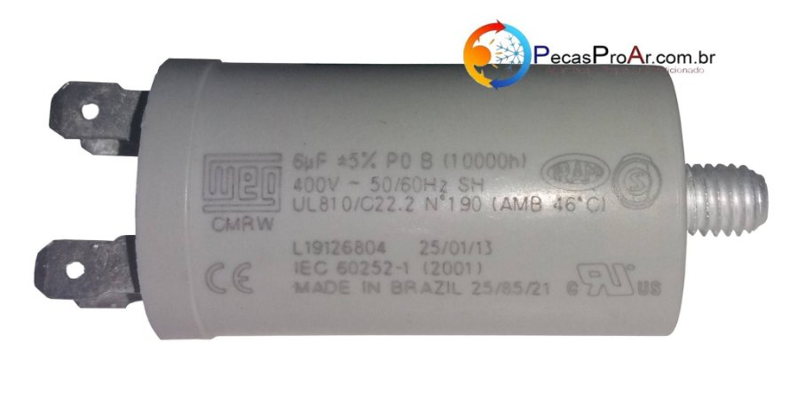 Capacitor 6MF 400V