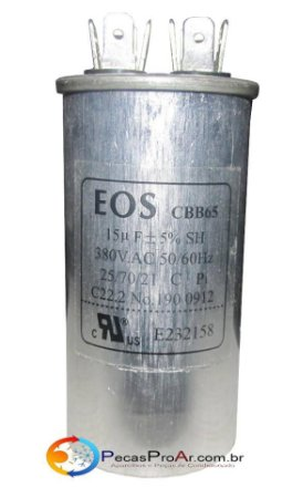 Capacitor 15MF 380V