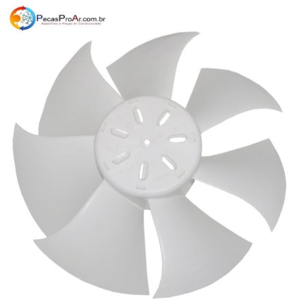 Hélice Ventilador Condensadora Midea Luna 38KQJ09M5