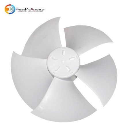 Hélice Ventilador Condensadora Midea Luna 38KQJ24M5