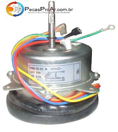 Motor Ventilador Condensadora Komeco Princess Split Hi Wall 12.000Btu/h KOS12FC2LX