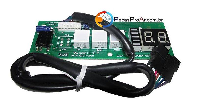 Placa Display Carrier X-Power Split Hi Wall 9.000Btu/h 42LVQB009515LC