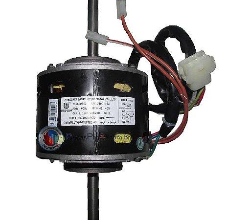 Motor Ventilador Evaporadora Springer SilverMaxi Piso Teto 30.000Btu/h 42XQB030515LS