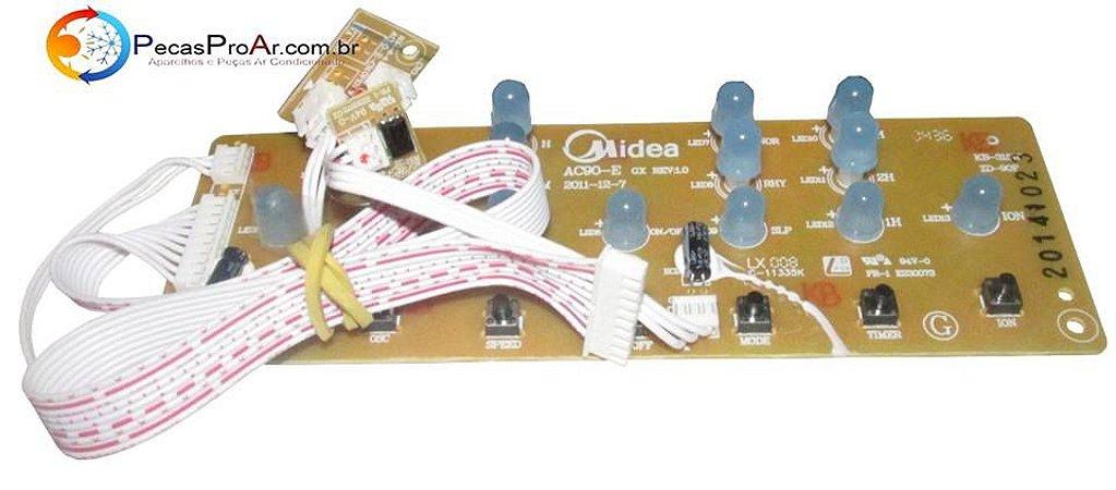 Placa Display Climatizador Springer Wind SCAFRB1 127V