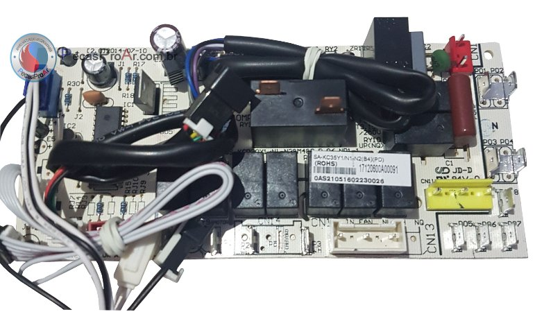 Placa Eletrônica Springer nova Portátil na Capacidade de 12.000Btu/h MPN12CRV2