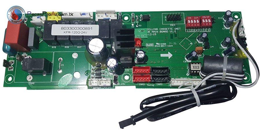 Placa Eletrônica Komeco Piso Teto 36.000Btu/h KOP36QCG4