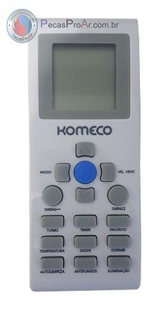 Controle Remoto Komeco Maxime MXS18QC4LA