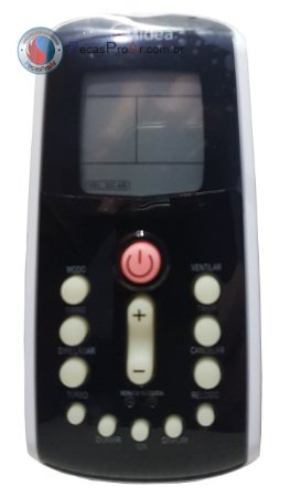 Controle Remoto Hi Wall Midea Eco inverter 42MEQA22M5