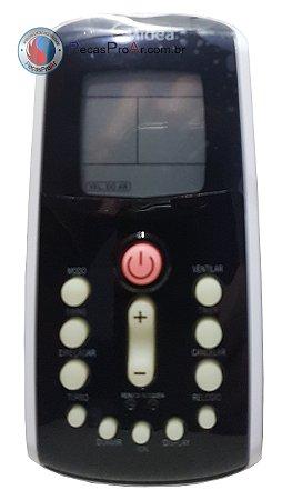 Controle Remoto Hi Wall Midea Eco inverter MSC22HRN3