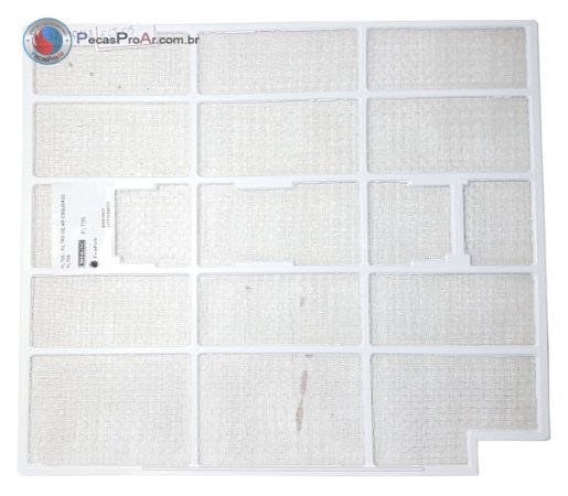 Filtro de Ar Esquerdo Hi Wall Midea Estilo 42MTCB12M5