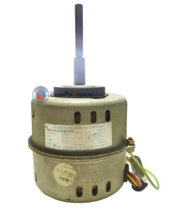 Motor Ventilador Evaporadora Midea Luna Split Hi Wall 24.000Btu/h 42MLCC24M5