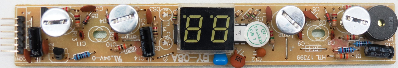 Placa Display Adega Midea WBB122