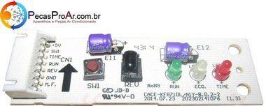 Placa Display Carrier Space Piso Teto 18.000Btu/h 42XQM18C5