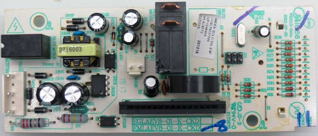 Placa Eletrônica Micro-ondas Midea Liva Branco 30 Litros MTBS41