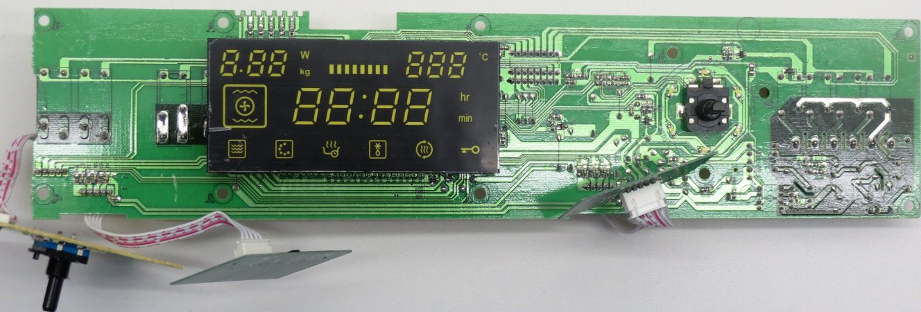 Placa Eletrônica Forno Elétrico com Micro-Ondas de Embutir Midea Desea 45L MYAC72