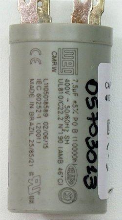 CAPACITOR 7,5UF 400VAC P0 42BQA036510KC