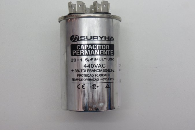 CAPACITOR PERMANENTE 20+1,5uf-380V