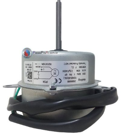 Motor Ventilador Condensadora Carrier cassete 24.000Btu/h 38KQD024515MC