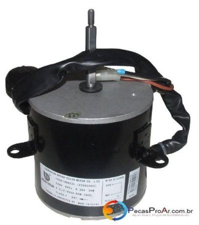 Motor Ventilador Condensadora Midea Liva Eco Split Hi Wall 9.0000Btu/h 38KQV09M5