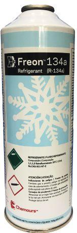 Gás refrigerante Freon R134A 750gr