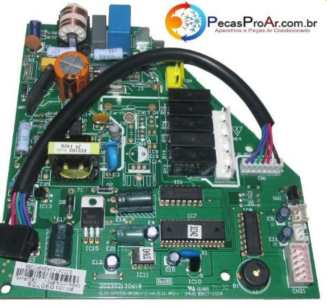 Placa Eletrônica Midea Eco Inverter Split Hi Wall 22.000Btu/h MSC22CR