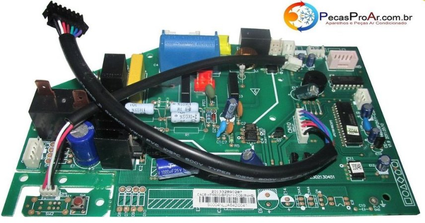 Placa Eletrônica Midea Eco Inverter Split Hi Wall 18.000Btu/h 42MEQA18M5