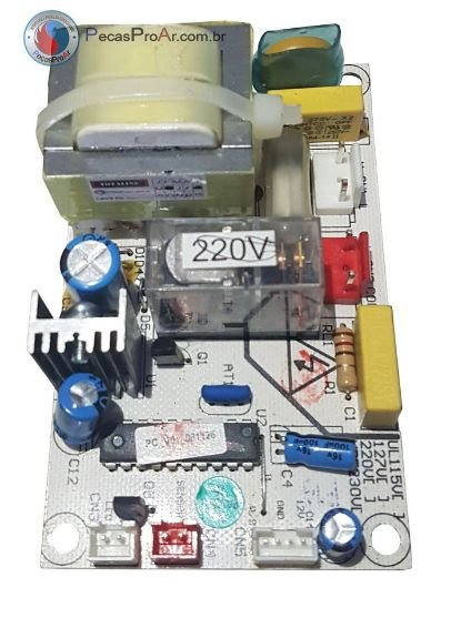 Placa Eletrônica Adega Midea Magno 33 garrafas MWC33HS1V