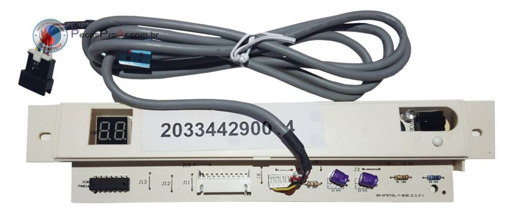 Placa Display Midea Piso Teto 60.000Btu/h 42MPCA48M5