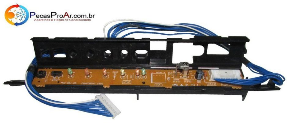 Placa Display Toshiba MCC861 Split Hi Wall LCPRASM13UKVE