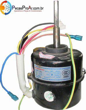 Motor Ventilador  Condensadora Springer Split Hi Wall 7.000Btu/h 38MQC007515MS