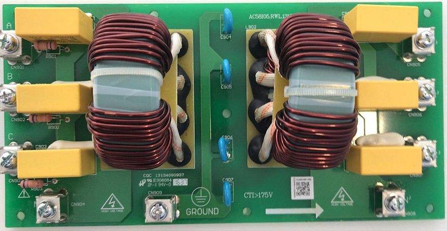 Placa Eletrônica Principal Carrier Chiller Inverter 15TR 30EVA15386S_A
