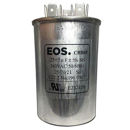 Capacitor  EOS Duplo 25+5  UF 440VAC