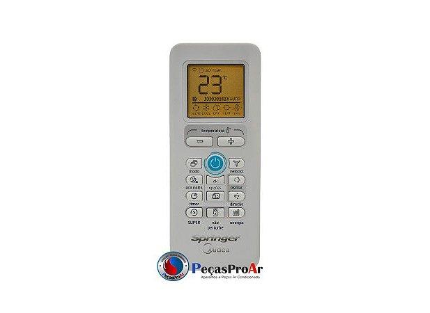 Controle Remoto Springer Midea Inverter 24.000Btu/h 42MBQA24M5