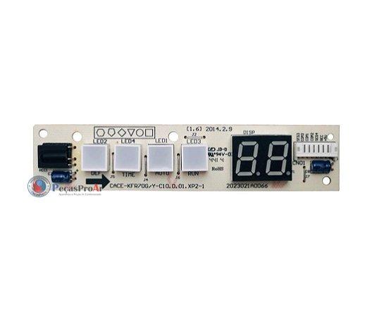 Placa Display Carrier Split Hi Wall 30.000Btu/h 42LUQC030515LC