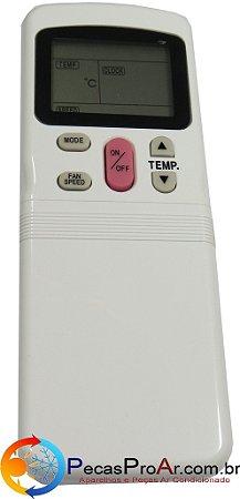 Controle Remoto Hi Wall Springer Maxiflex 42MCA012515LS